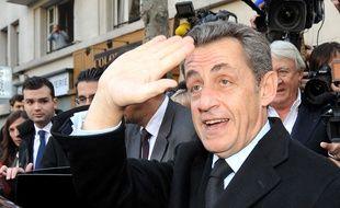 Nicolas Sarkozy le 29 novembre 2014.