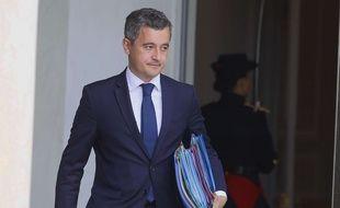 Le ministre de l'Intérieur, Gérald Darmanin, à la sortie de conseil des ministres, le 15 juillet 2020.