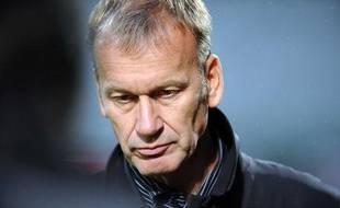 Jean-Marc Furlan, le 16 août 2010, au stade Saint-Symphorien de Metz.