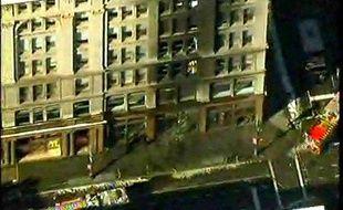 Une explosion a secoué un immeuble de 6th Avenue, à Manhattan, le 11 février 2010