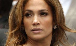 Jennifer Lopez sur Hollywood Boulevard, à Los Angeles, le 23 mai 2011