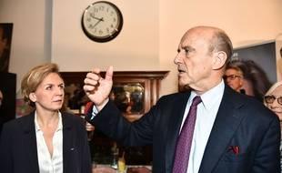 Alain Juppé et Virginie Calmels