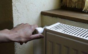 Illustration radiateur, précarité énergétique.France.