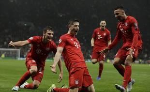 Le Bayern s'est baladé à Tottenham