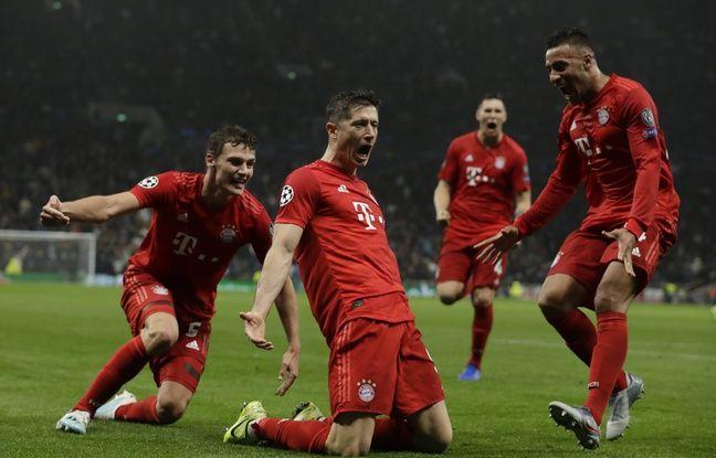 Ligue des champions: Quel carton! Le Bayern en colle 7 à Tottenham chez lui