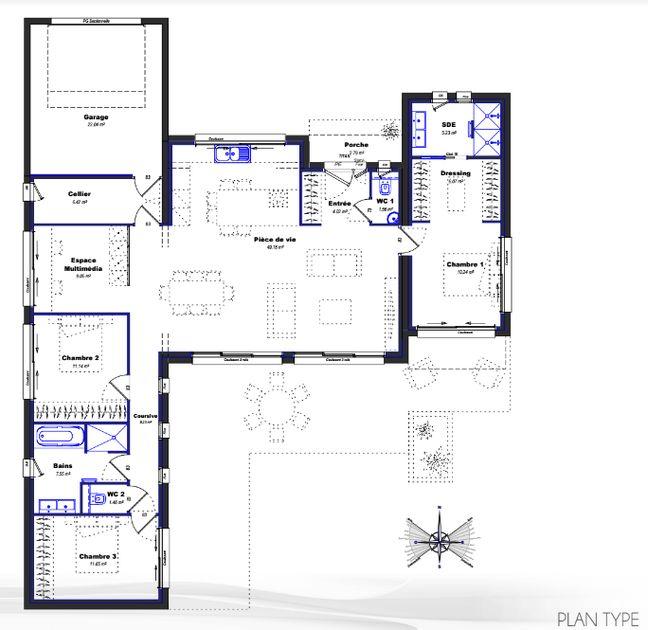 bordeaux d couvrez votre future maison gr ce la r alit virtuelle. Black Bedroom Furniture Sets. Home Design Ideas