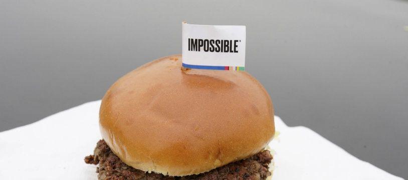 Un «burger impossible» de la marque Impossible Foods (illustration).