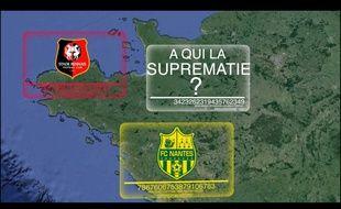 La vidéo s'amuse de la rivalité entre les deux clubs, en prenant parti pour le FCN.