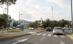 5 caméras à Odysseum: devant le lycée Mendès-France et place d'Odysseum (ci-dessus). Il y en aura aussi face à la nouvelle mairie, à la Mosson et Celleneuve.
