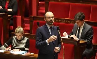 Le Premier ministre Edouard Philippe à l'Assemblée le 19 mars 2020.