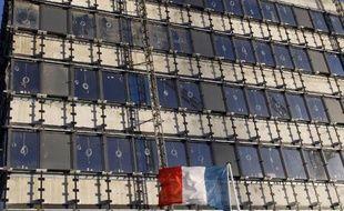Le nouveau ministère français de la Défense en construction, un marché attribué au groupe Bouygues le 7 février 2014 à Paris