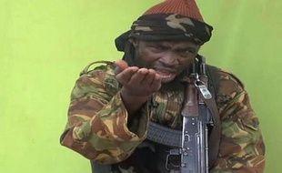Capture d'écran de la vidéo de Boko Haram diffusée le 12 mai 2014 montrant le chef du groupe islamiste Abubakar Shekau