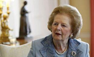Margaret Thatcher, en juin 2010, à Londres.