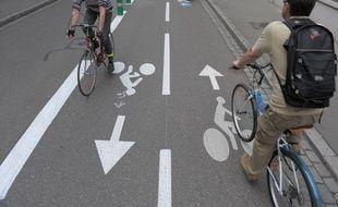 Strasbourg et Bordeaux dans le top 15 mondial des villes cyclables (Illustration)
