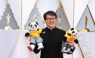 L'acteur Jackie Chan aux 89ème Academy Awards.