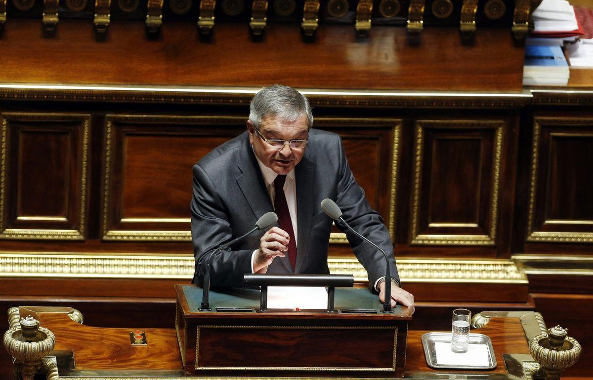 Le sénateur Michel Mercier, au Sénat le 16 mars 2016.  – FRANCOIS GUILLOT / AFP