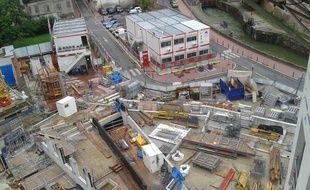 Le chantier est arrêté depuis l'été dernier.