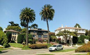 Presidio Terrace est une ruehuppées de San Francisco.