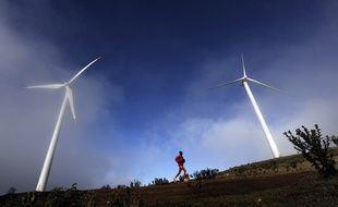 Des éoliennes au Kenya.