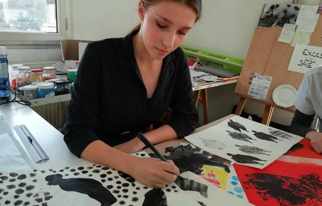 Fifteen students from Martinière Diderot participate in Textileaddict.me