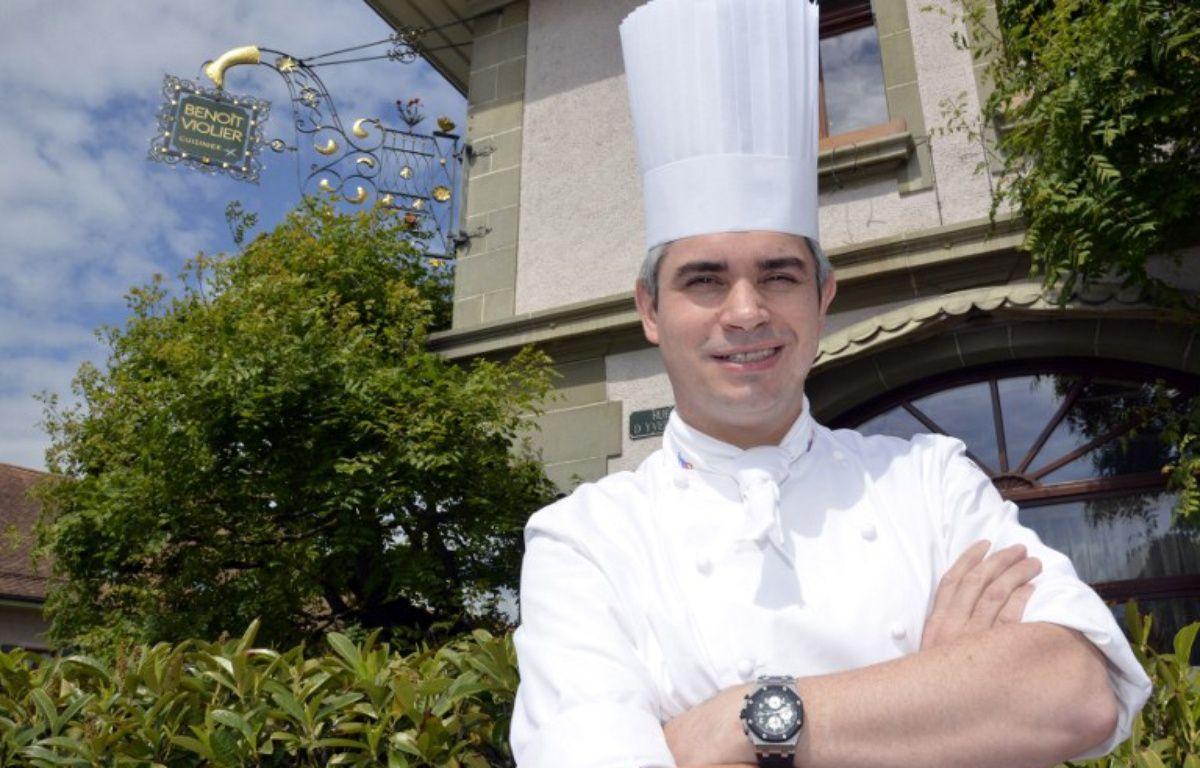 Le chef cuisinier franco-suisse Benoît Violier.  – ©MARCEL GILLIERON / AFP