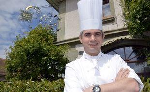 Le chef cuisinier franco-suisse Benoît Violier.