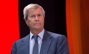 Vincent Bolloré le 9 septembre 2014