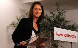 Johanna Rolland, candidate PS à la mairie de Nantes.