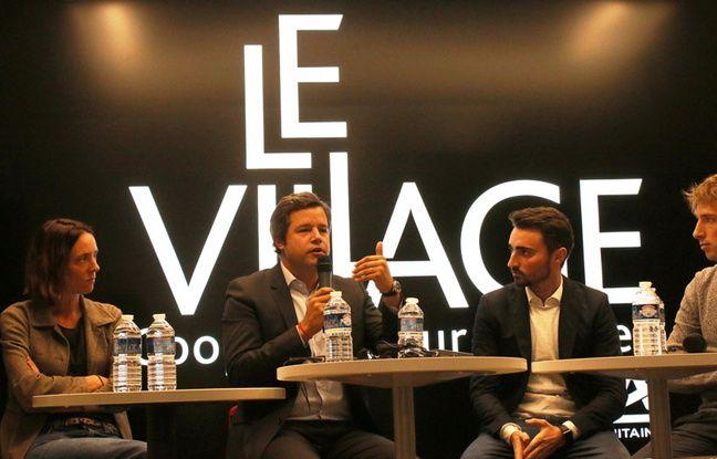 Emmanuel Marill, directeur général d'Airbnb France, a rencontré des entrepreneurs bordelais, le 3 novembre 2017 à Bordeaux