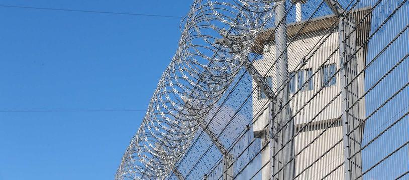 CORBAS, le 05/03/2015 Illustration prison de Lyon:FABRICE ELSNER/SIPA/1503111644