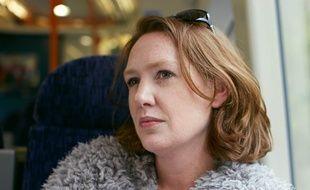 Paula Hawkins, auteur de La Fille du train.