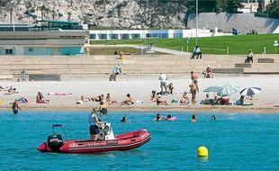 Malgré une météo mauvaise en juillet, les plages de Marseille ont connu une fréquentation en hausse cette année.