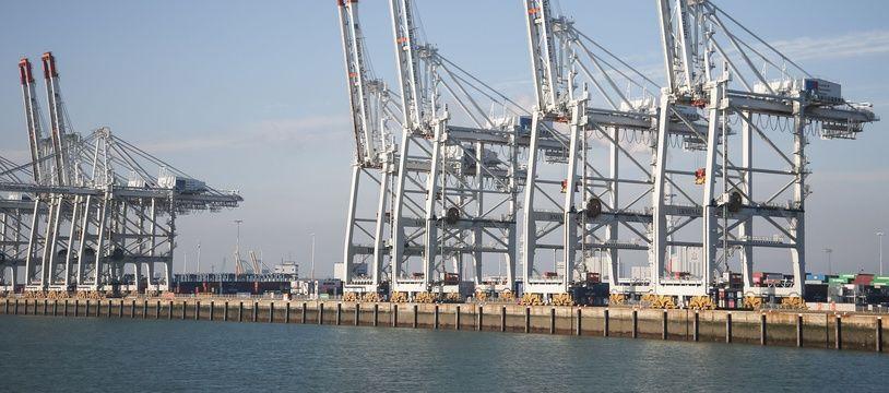 Le port du Havre. (illustration)