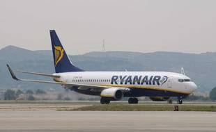 Illustration: un avion de la compagnie Ryanair.