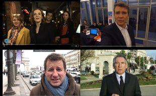 Les vœux en vidéo de Nathalie Kosciusko-Morizet, Arnaud Montebourg, Yannick Jadot et François Bayrou.
