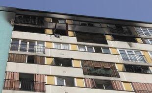 Incendie Clichy sous bois, le 14 mars 2014