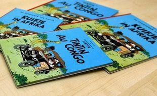 Des albums de «Tintin au Congo»