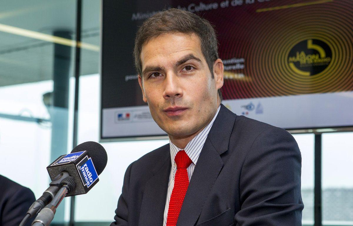 Le PDG de Radio France Mathieu Gallet en octobre 2014. – VINCENT WARTNER/SIPA