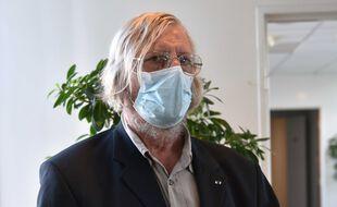 Le professeur Didier Raoult, à Paris le 16 septembre 2020.