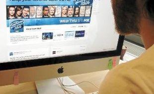 Le télécrochet «American Idol» compte 8,5 millions de fan sur Facebook.