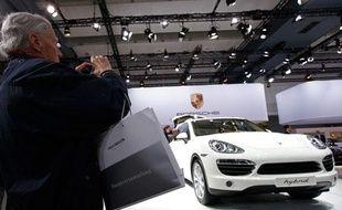 La nouvelle Porsche Cayenne, le 22 avril 2010