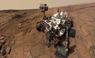Un selfie de Curiosity sur la planète Mars