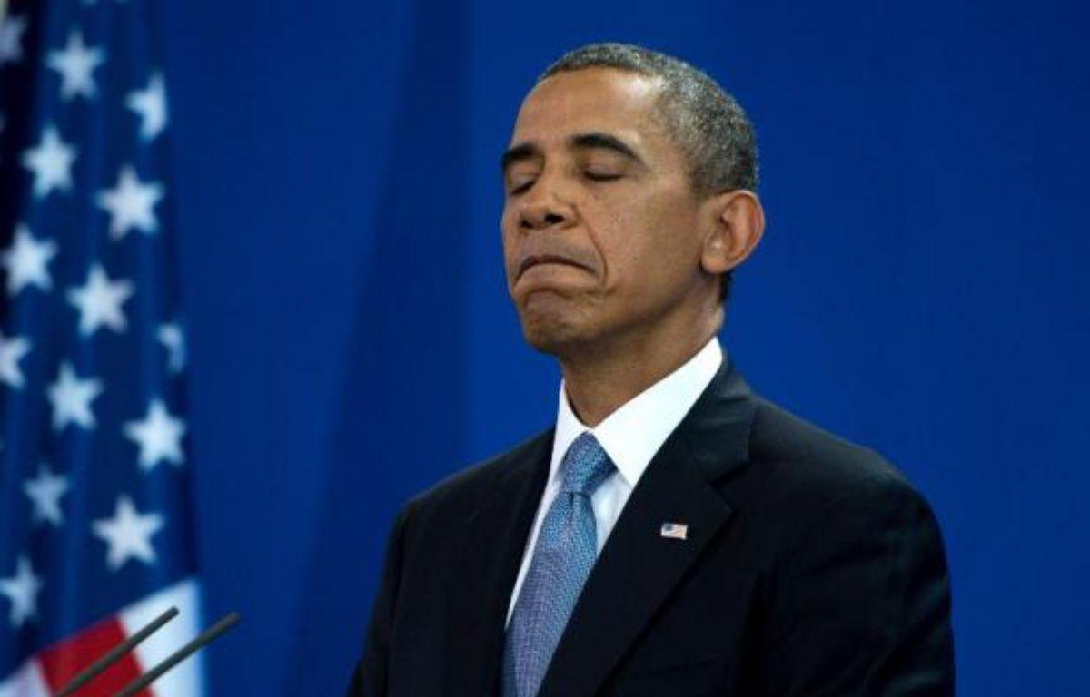 Barack Obama, président des Etats-Unis. – Johannes Eisele AFP