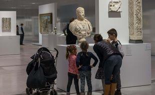 Au musée du Louvre-Lens