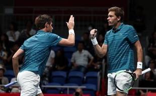 Mahut et Herbert disputeront dimanche leur deuxième finale du double à Paris-Bercy.
