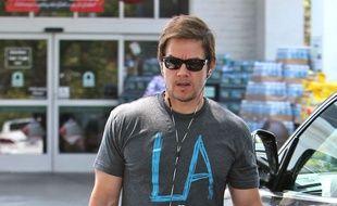 L'acteur Mark Wahlberg à Los Angeles.