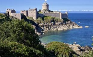 Le fort La Latte, en Bretagne (illustration).