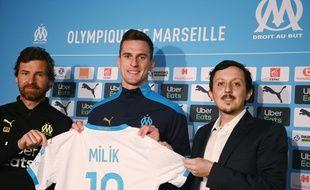 Arkadiusz Milik est prêt à enfiler les buts avec l'OM.