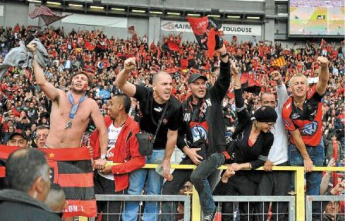 Près de 5000, dimanche, au stadium de Toulouse, les supporters varois préparent le déplacement vers Paris. –  f lancelot / sipa