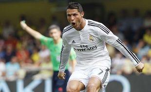 Cristiano Ronaldo contre Villareal le 27 septembre 2014.